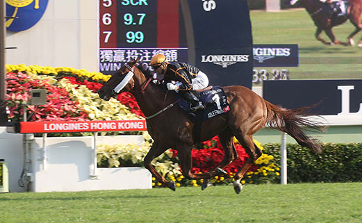 Able Friend G1 - HK Mile Dec 2014