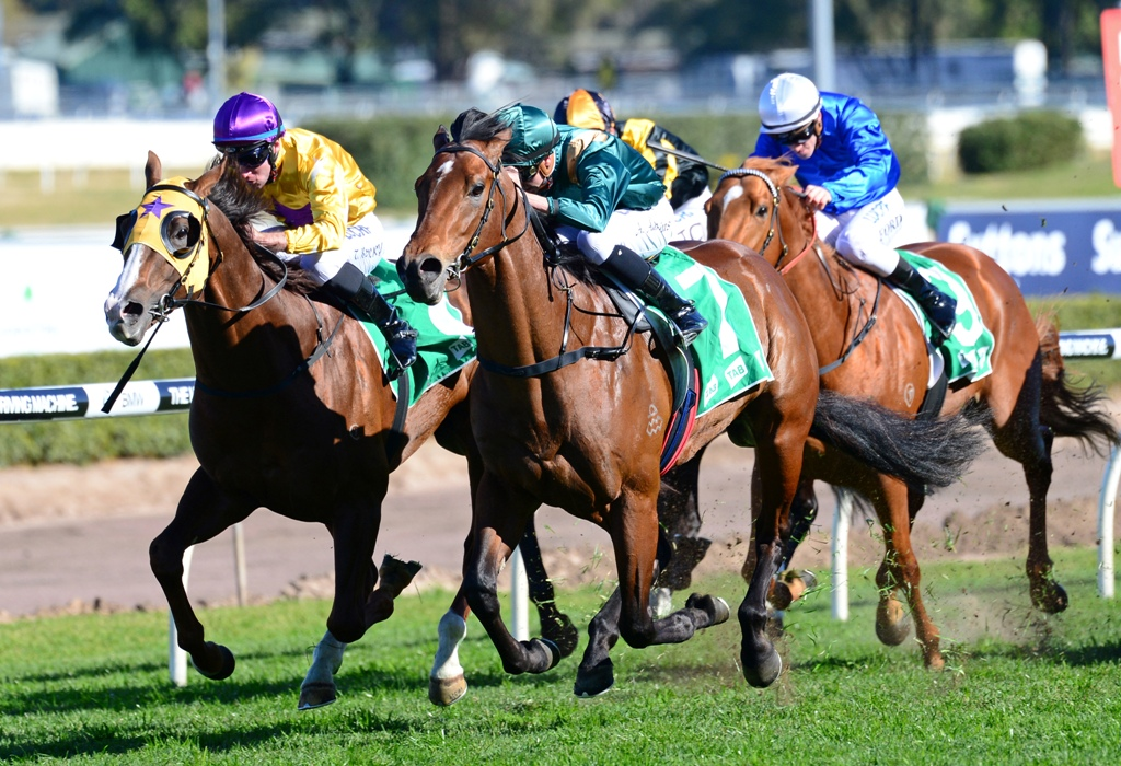 Dracarys wins the Up And Coming Stakes