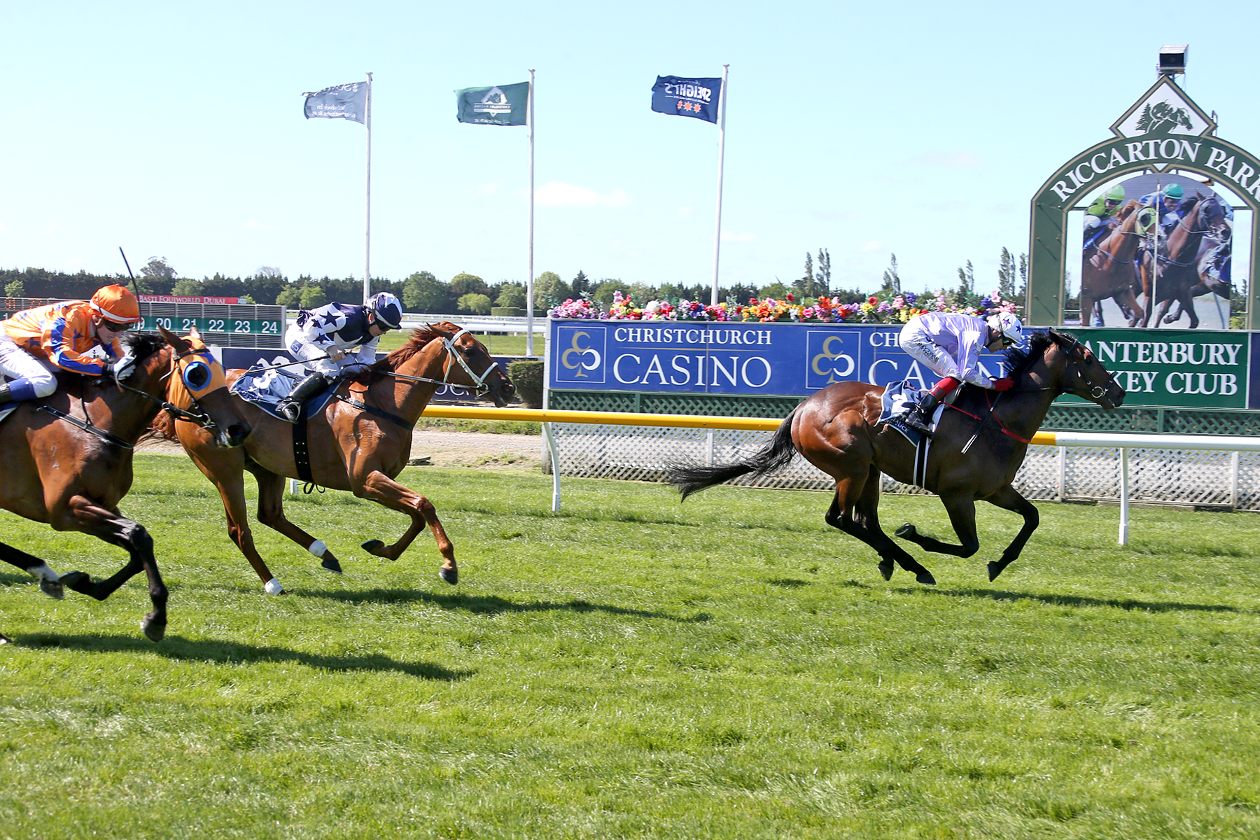 Ever Loyal wins the Listed Zacinto Stakes.