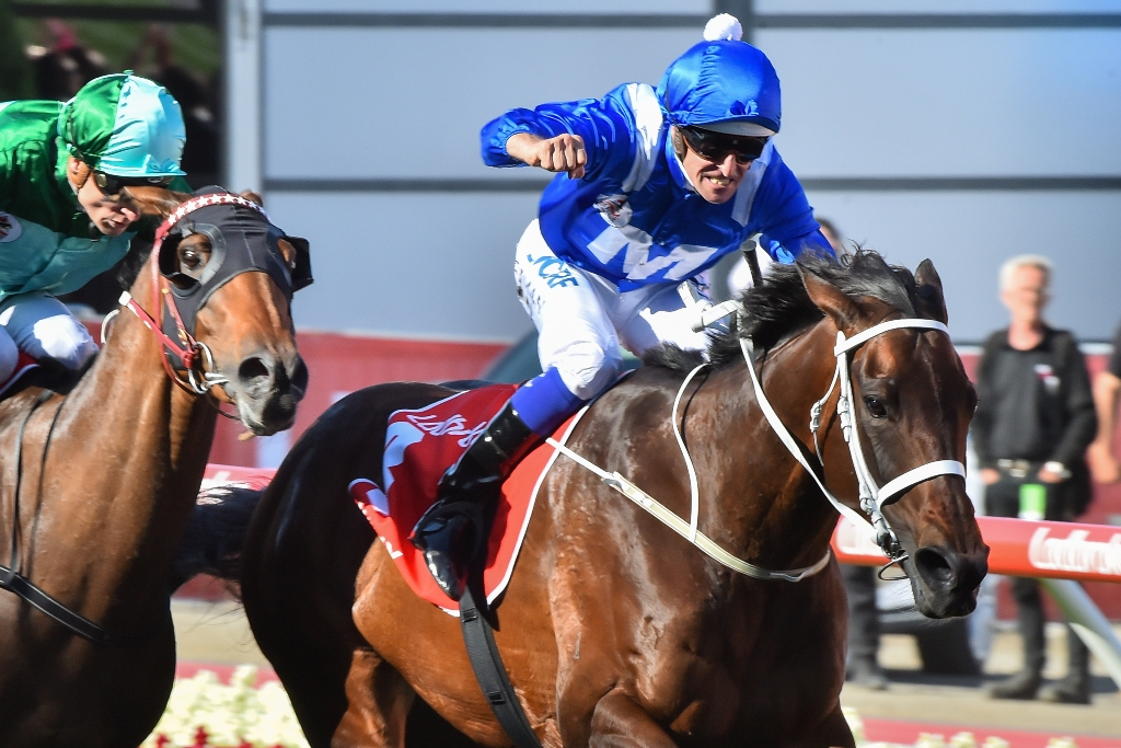 Winx wins her third Cox Plate.