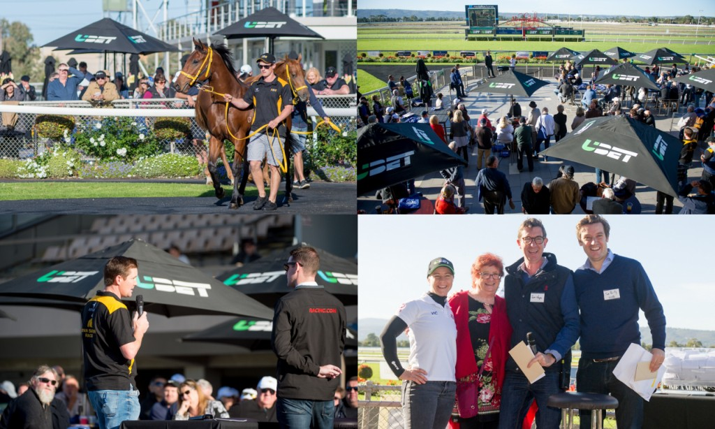 A big crowd enjoyed a Sunday morning Breakfast with the Stars at Morphettville