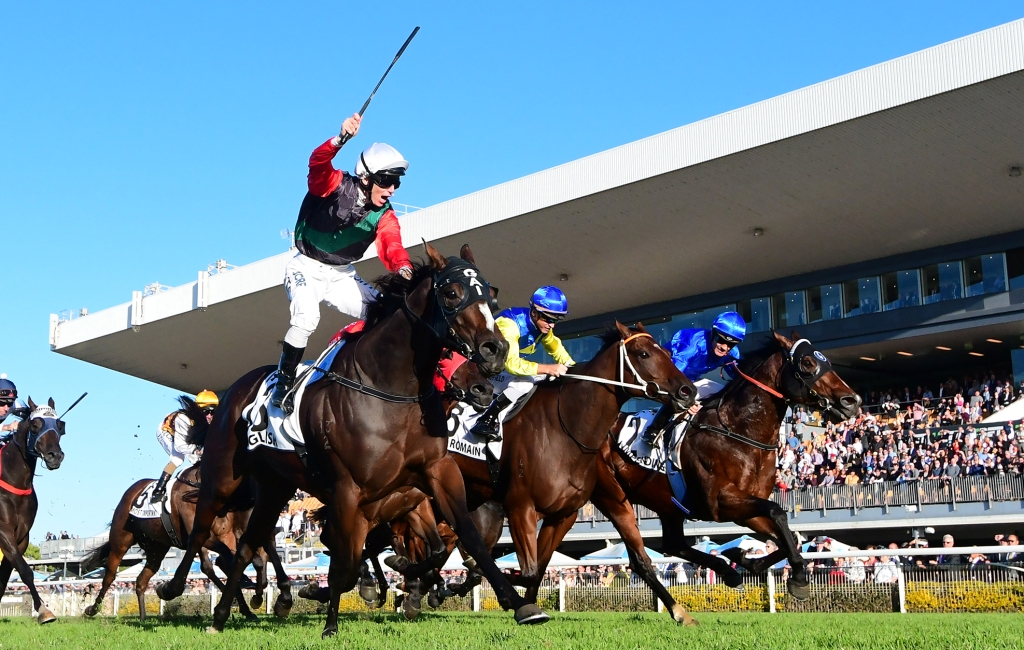English wins the Doomben 10,000 (Trackside Photography)