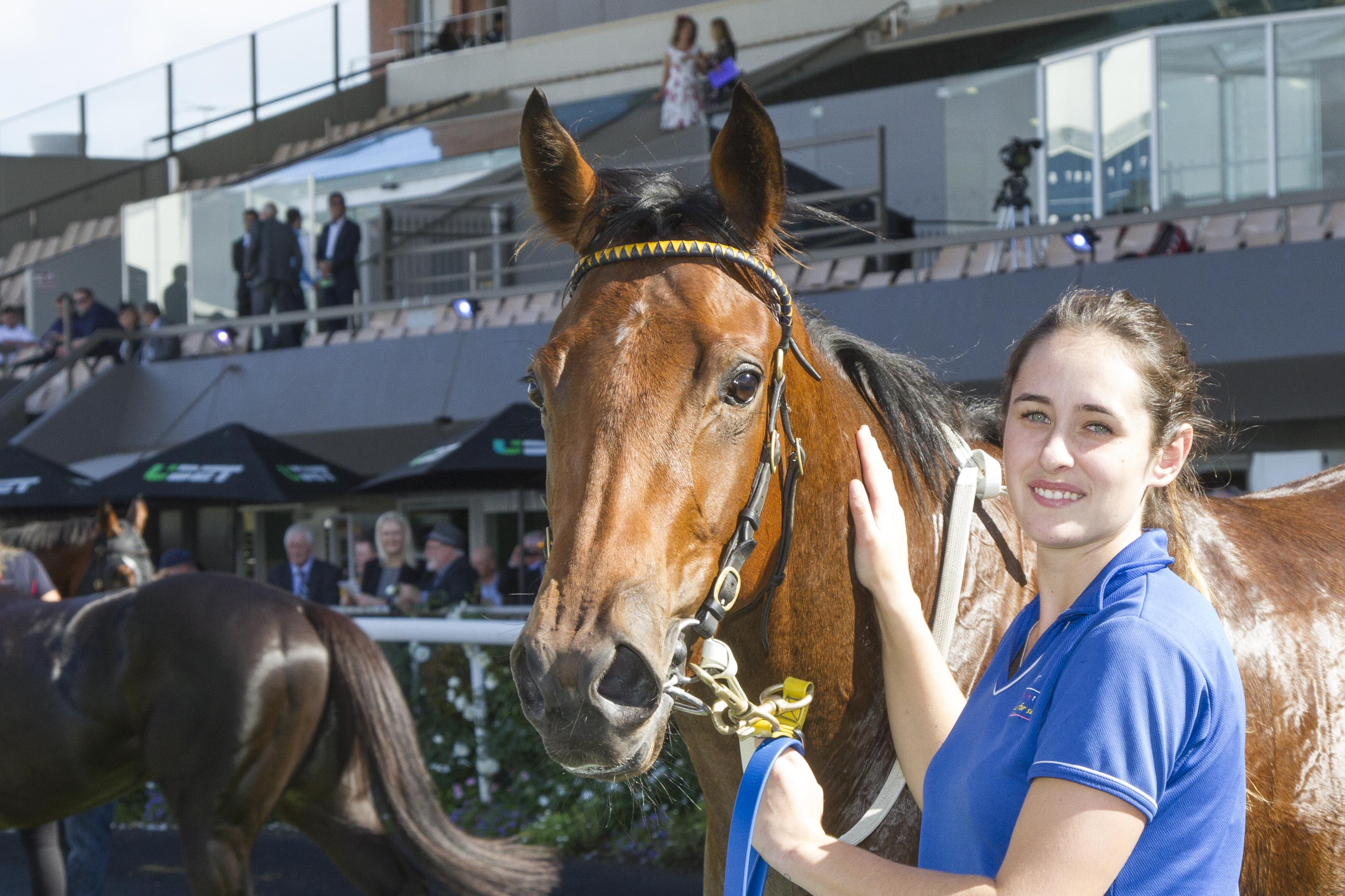 Heaven's Deal after winning the Queen Adelaide Stakes (Atkins Photography)