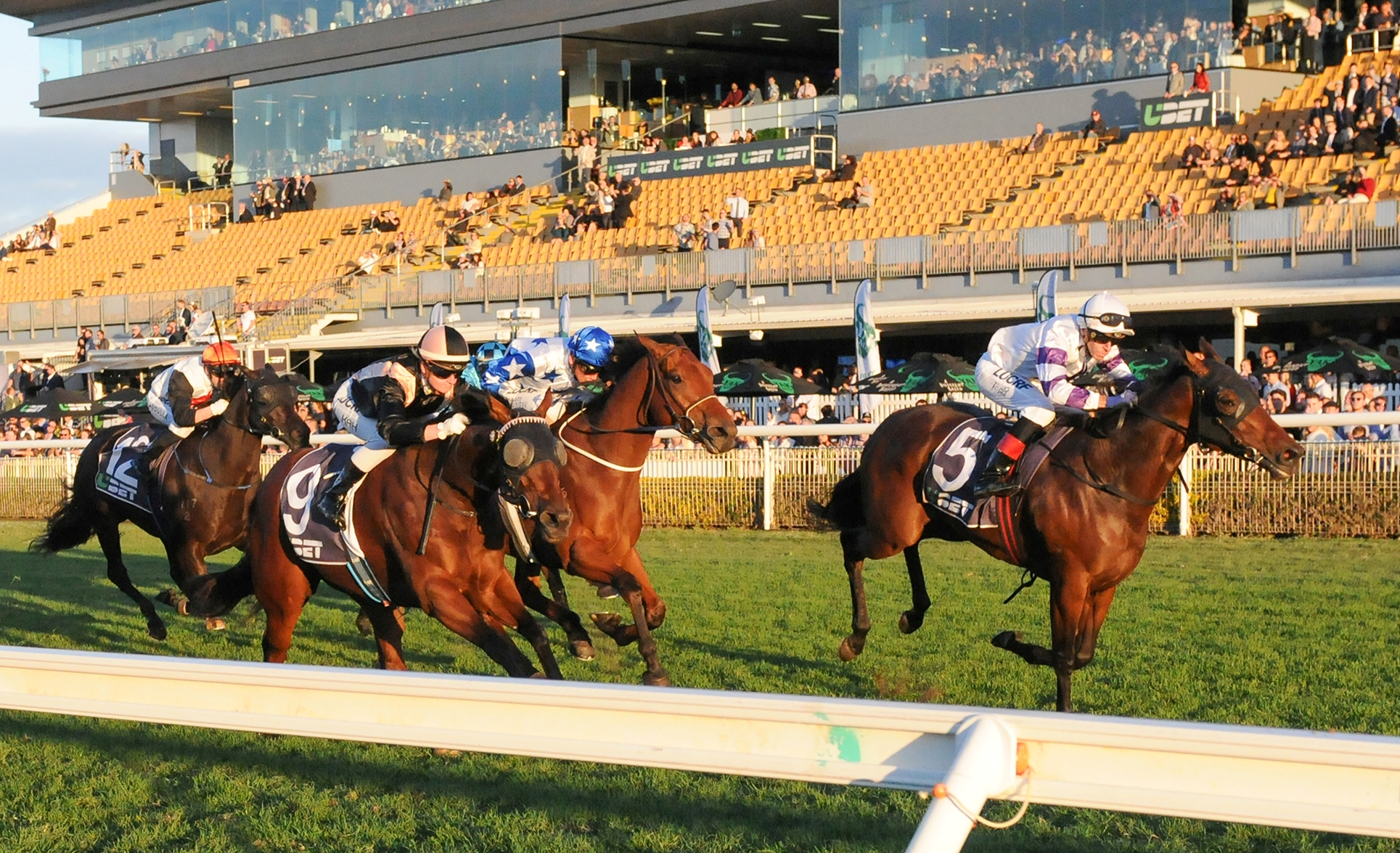 Spright wins the Healy Stakes