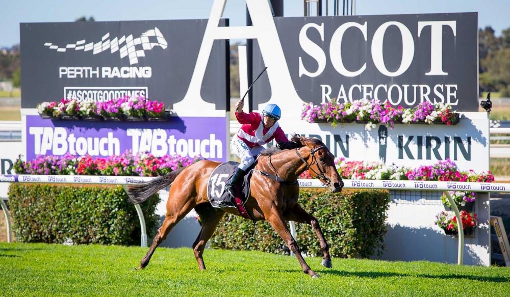 Arcadia Queen wins the West Australian Guineas.