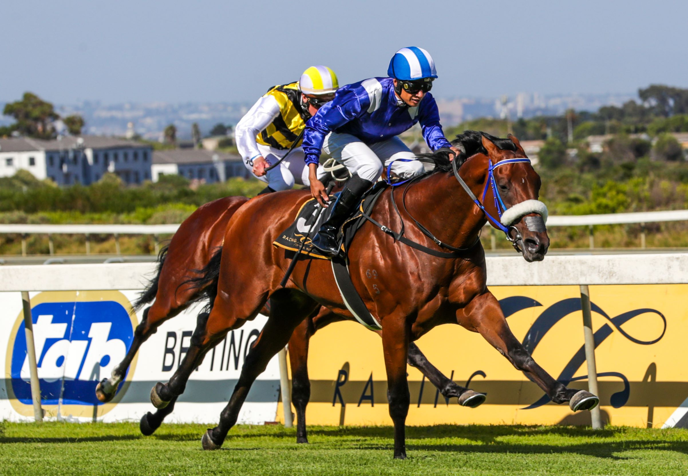 Soqrat wins the Group 1 Cape Guineas