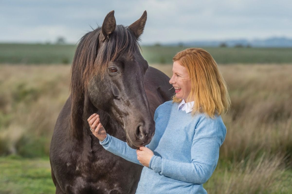 Jessica Liston is travelling to the NT to rehome the Waler horse