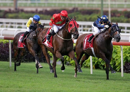 Aramco wins the Group One Lion City Cup at Kranji