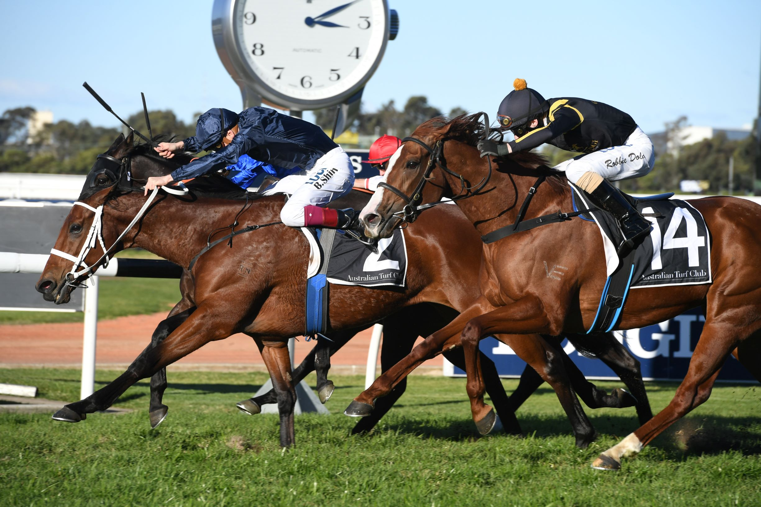 Eckstein wins the Listed Winter Stakes
